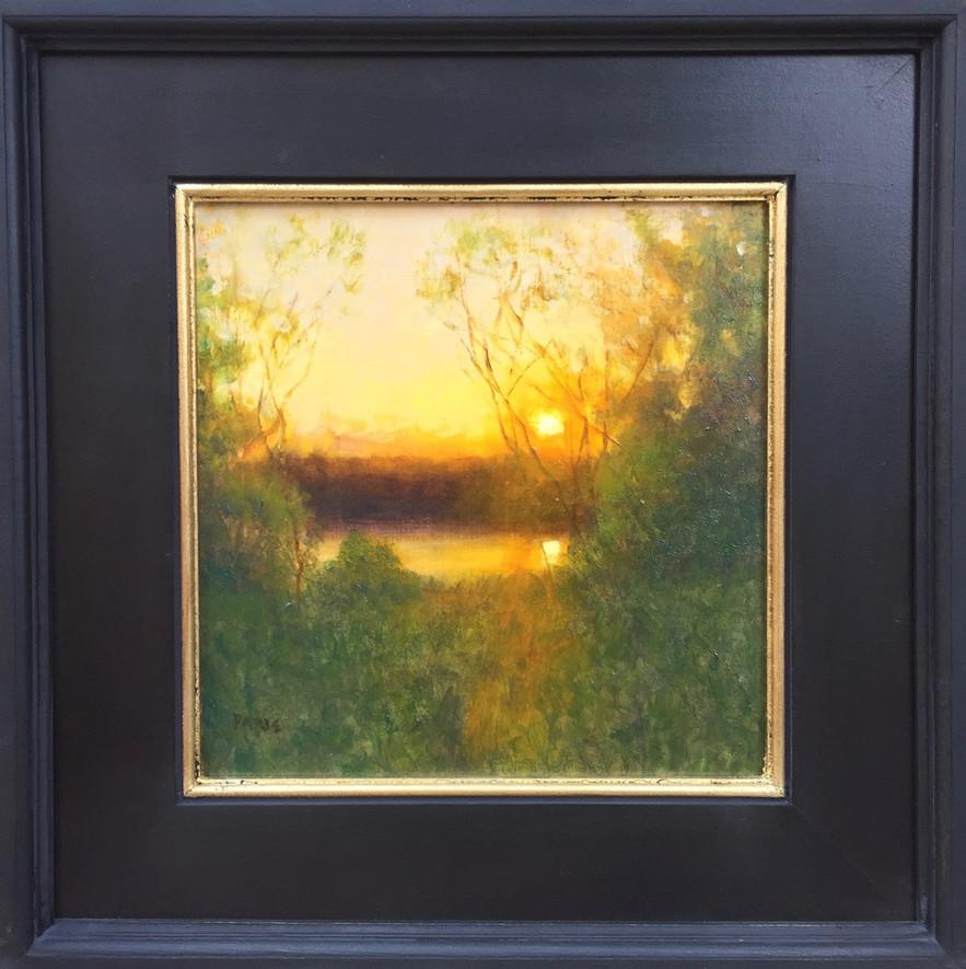 'Sunrise at the Pond'