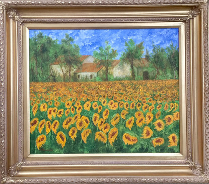 'Sunflower Field in Provence'