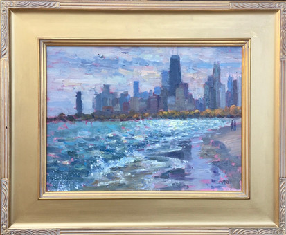 'Lakefront Waves'