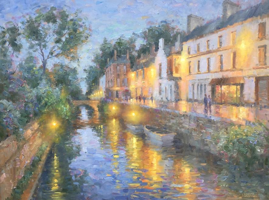 'Pont Aven at Night'