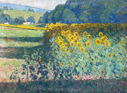 'July Sunflowers'