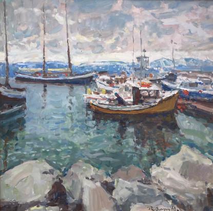 'Husavig Harbor'