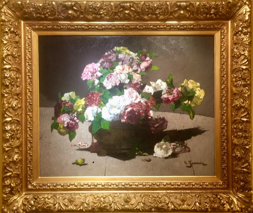 'Still-Life of Roses and Peonies'