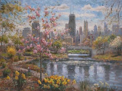 'Springtime Stroll'