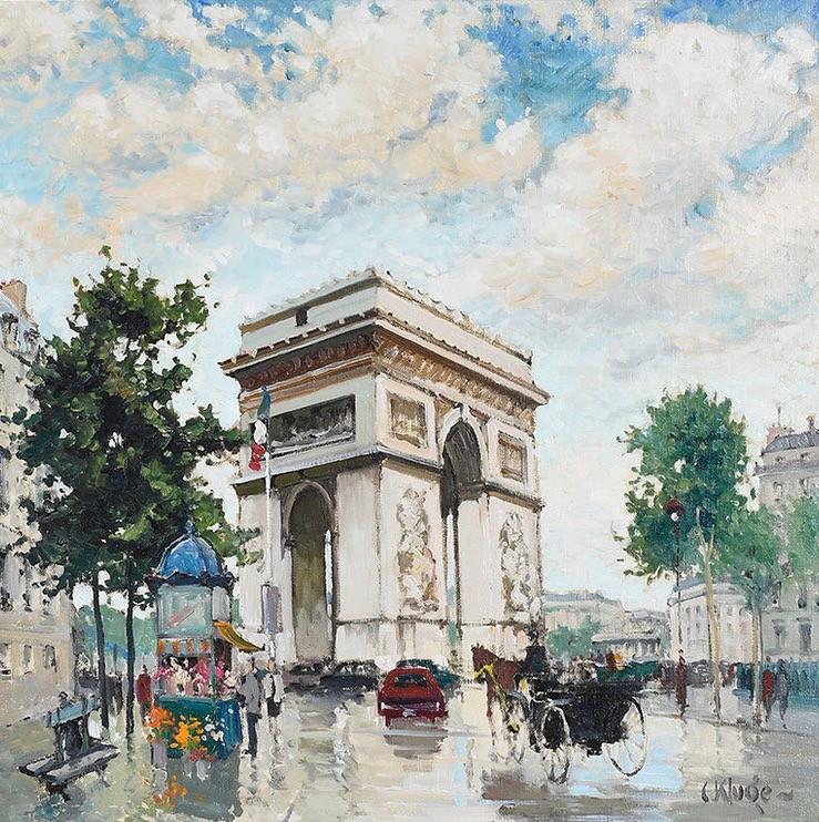 'Arc De Triomphe'