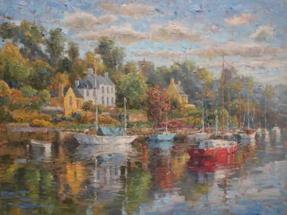 'Pont Aven Harbor'