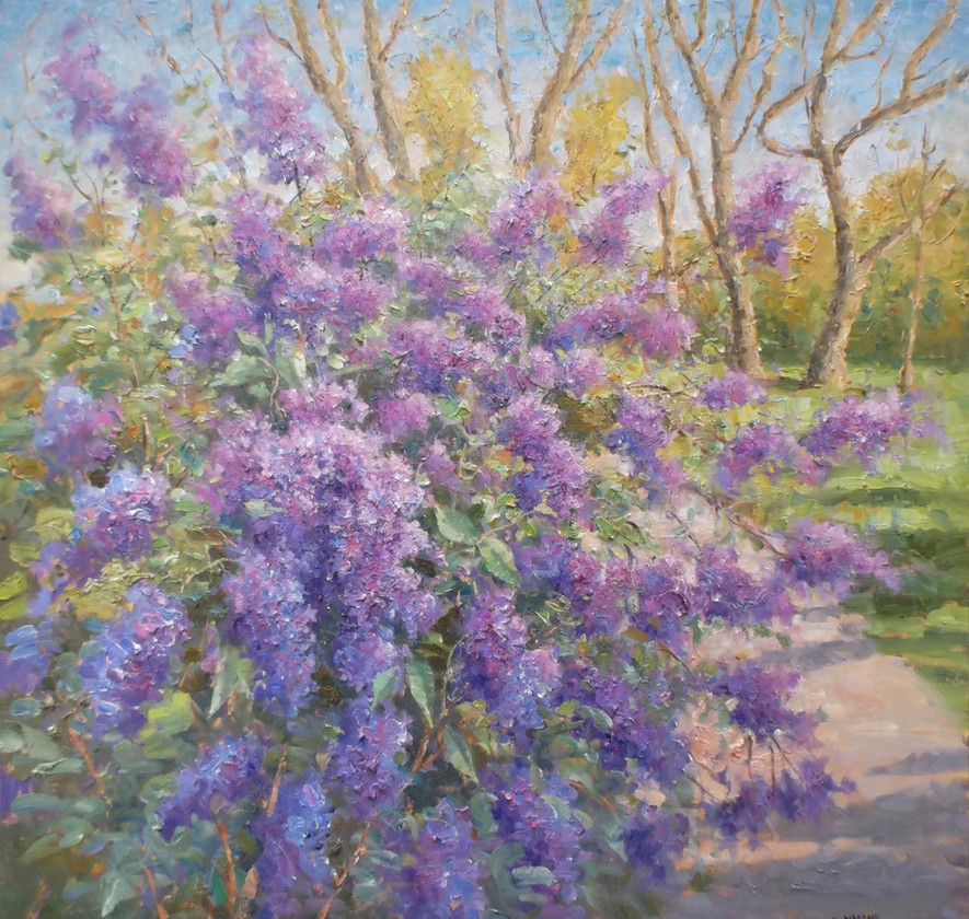 'Lilacs in the Park'