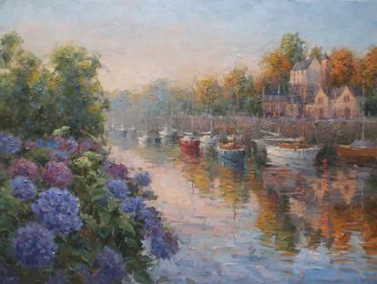 'Pont Aven Autumn Morning'