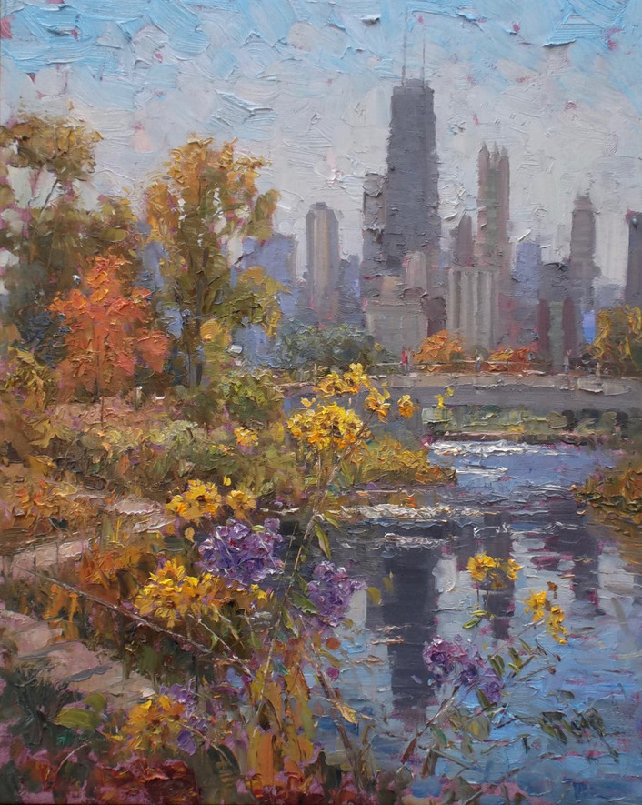 'Lincoln Park in Fall'