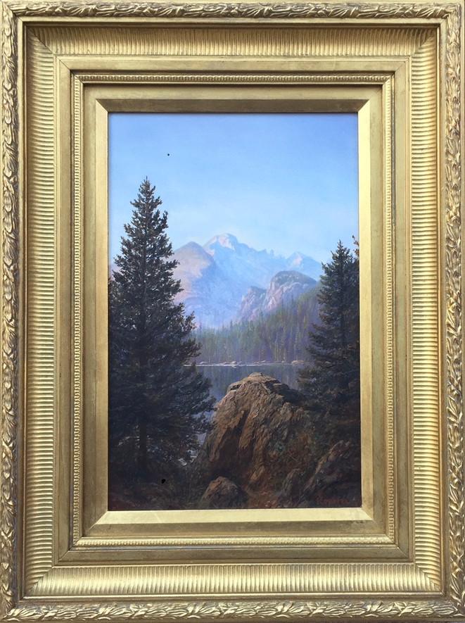 'Morning Light at Bear Lake'
