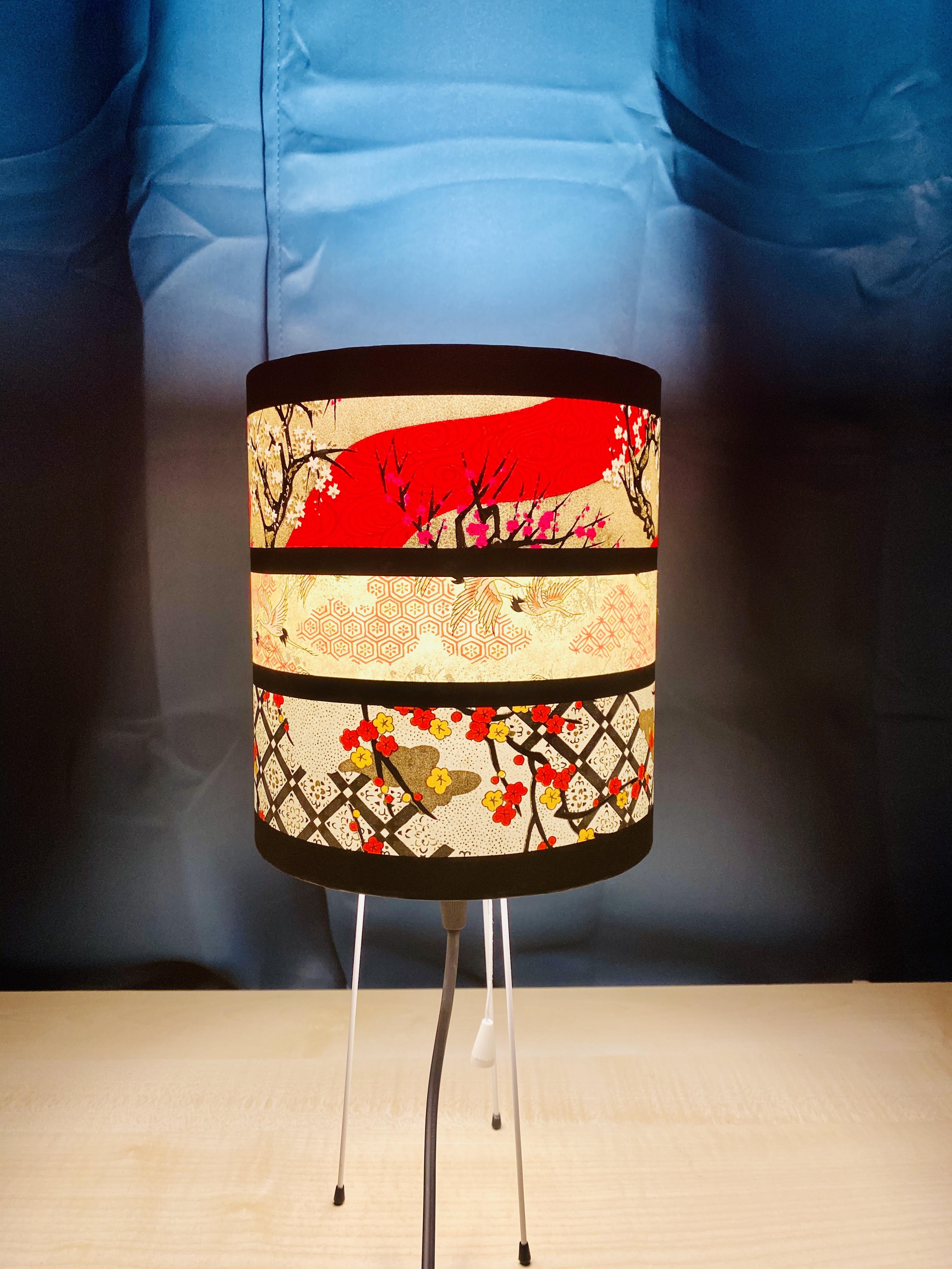 Lampe de chevet métallique