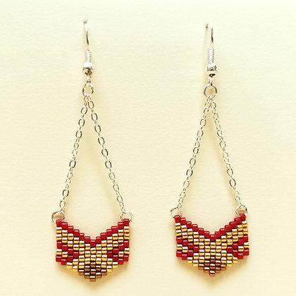 Atelier boucles d'oreilles en perle de Miyuki samedi 12 décembre