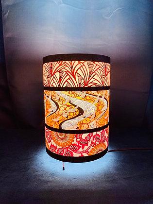 Lampe japonaise ronde intermédiaire