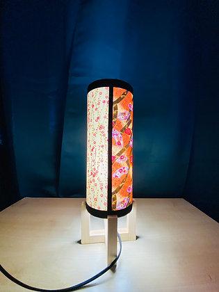 Lampe de chevet japonaise pieds bois
