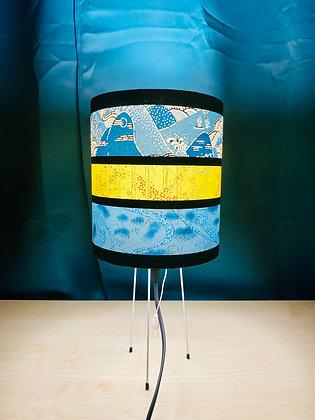 Lampe de chevet japonaise pieds métalliques