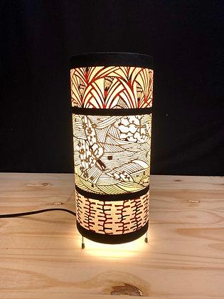 Petite lampe japonaise ronde