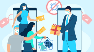 How did COVID-19 impact holiday sales?