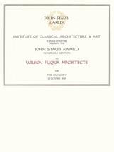 2019 Staub Award