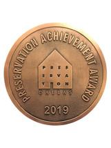 2019 Preservation Achievement Award