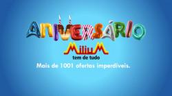 Aniversário Milium