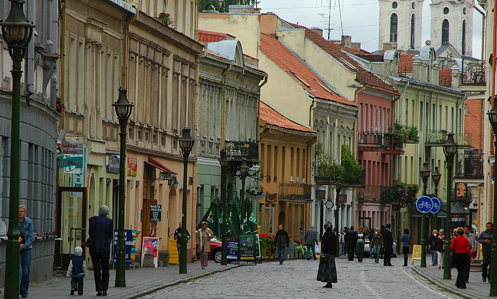 2 hours walking excursion in Kaunas old town