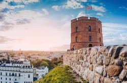 Vilnius. Gediminas-castle