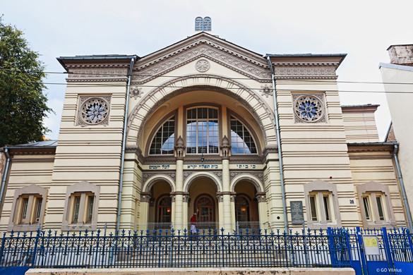 4 Choral Synagogue, Vilnius.JPG