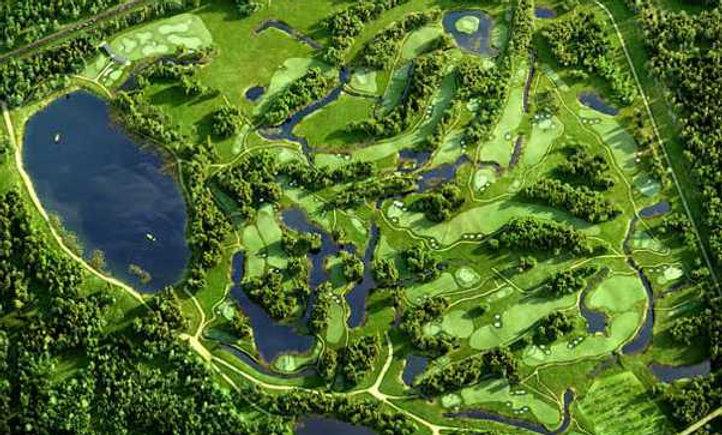 Golf Green Fee (18 holes) at V Club