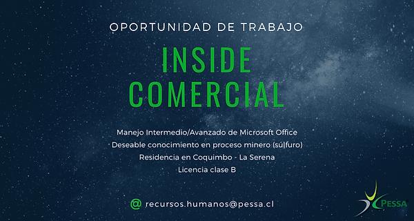 Inside Comercial Cqbo