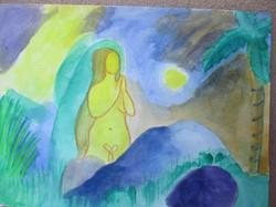 Sasha SUN artwork, shelter 2017, goldens