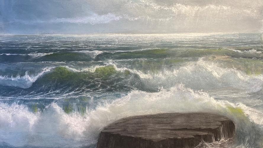 """Loney Rock"", Coast Guard Beach, Eastham"