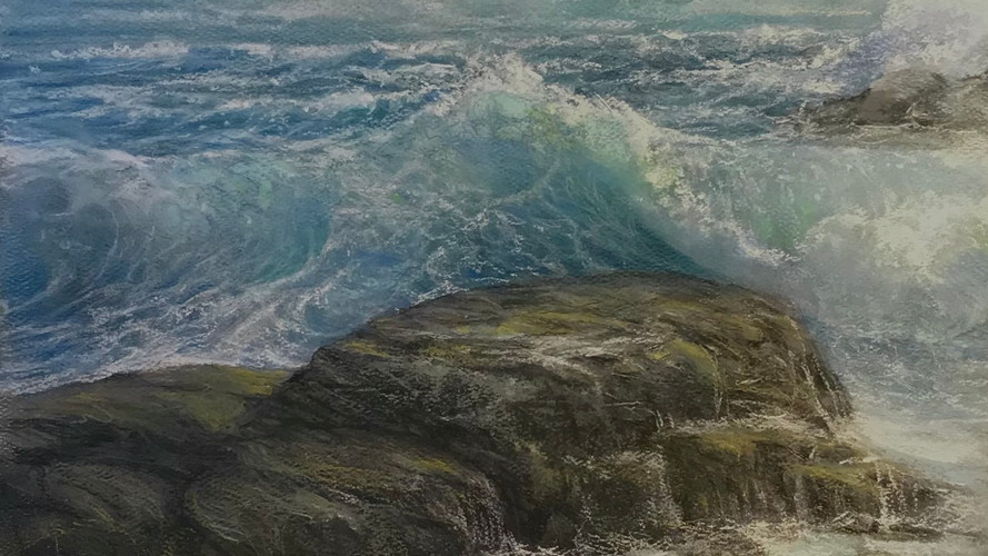 Frothy Sea