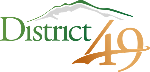 2016 District 49 D49 Logo District Full