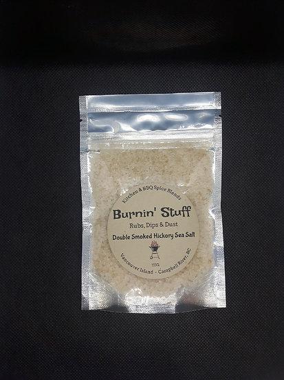 Double Smoked Hickory Sea Salt