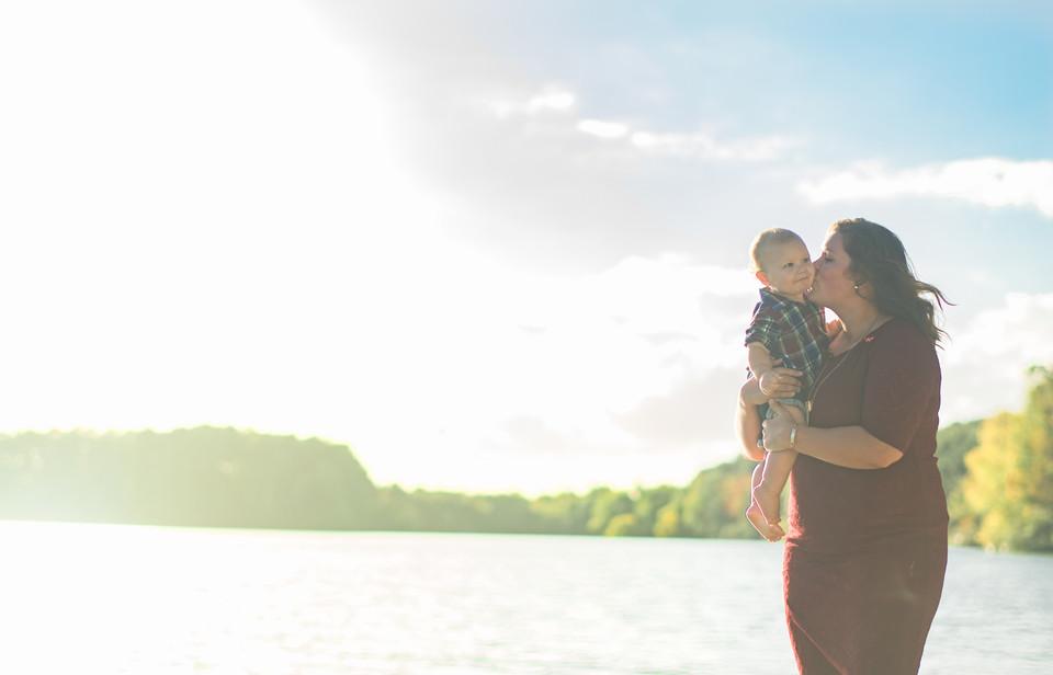 Oak Grove Lake Park Chesapeake Family Photographer Marshall Arts Studio