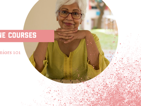 Online classes for seniors 101