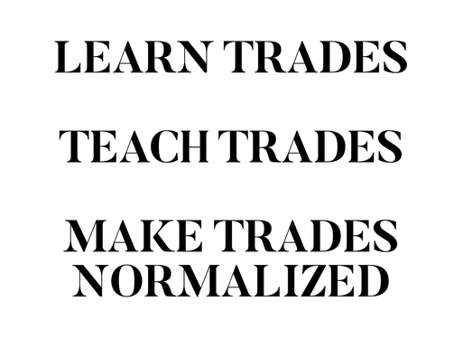Make trades normalized