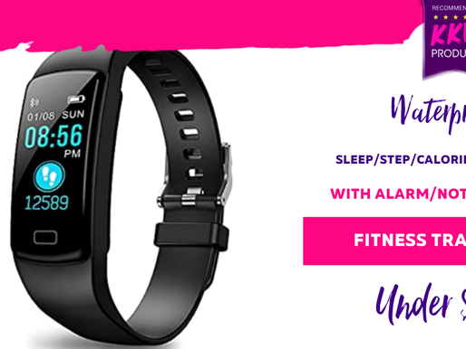 Waterproof Fitness Band- Bluetooth enabled with notifications /heart rate/calorie/step/alarm