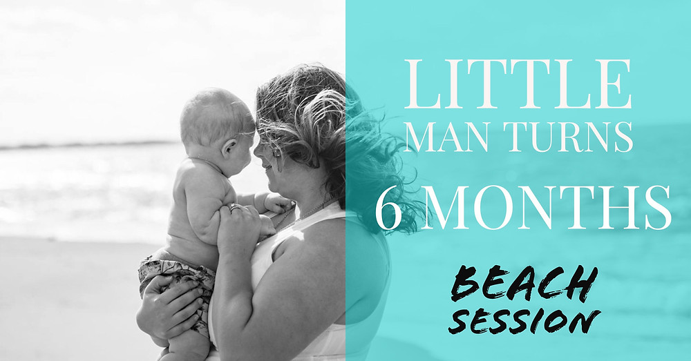 6 Month Old Milestone Session {Baby and Child Photographer Virginia Beach Lynnhaven Pier}