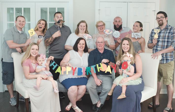 Happy 60th Birthday Chesapeake Family Session Virginia
