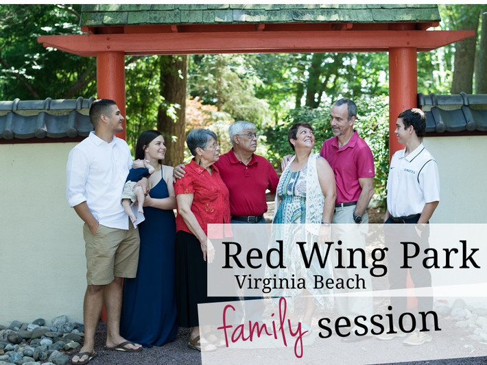 Virginia Beach, Virginia, Red Wing Park Family, Anniversary and Baby Photo Session