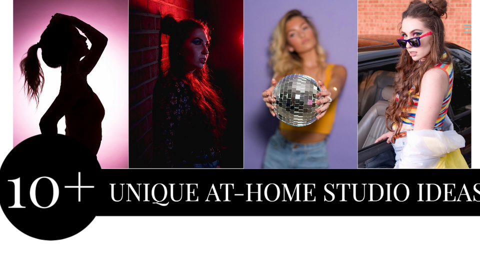 10 + unique at-home studio ideas