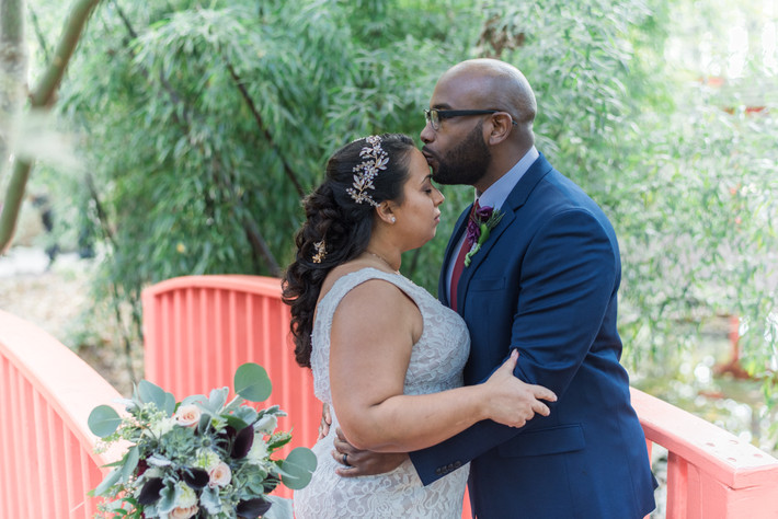 Thanksgiving Wedding | Navy and Burgandy   | Wedding Photography | Virginia Beach | Red Wing Park |