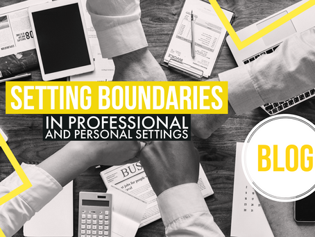 Setting boundaries in the workplace