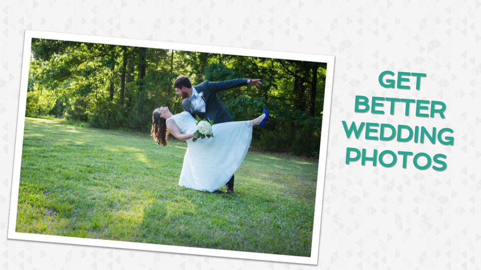 How to Get Better Wedding Photos