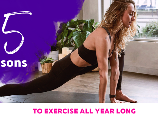 15 Reasons to Exercise All Year Long