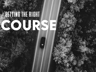 Setting the right course