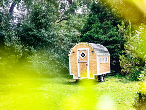 Custom Glamping Wagon Shell Only build Story