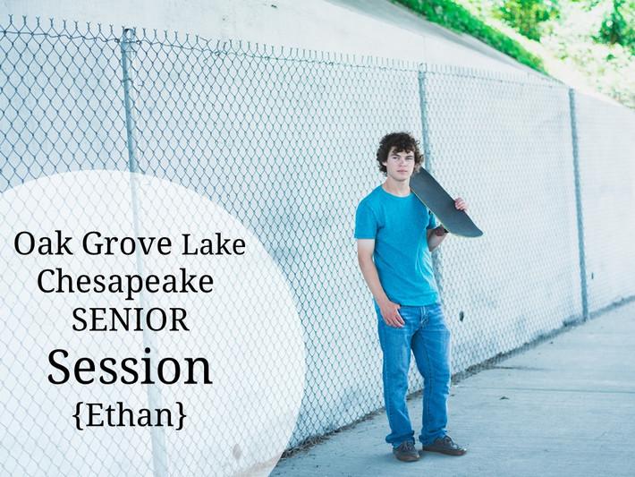 Chesapeake, Virginia Oak Grove Lake  Guitar, Grafitti, Skateboard, Urban, city Senior Portrait Photo