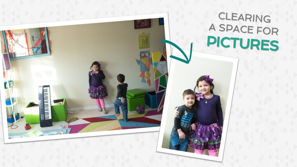Clearing a Space in Your Crazy (Kid-Filled) Life For Pictures
